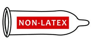 Latex free condoms