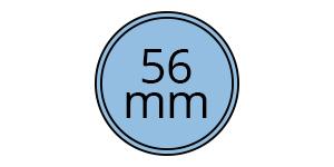 56 mm condom