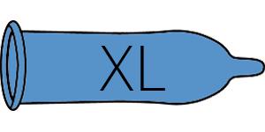 XL condooms (CAS 8-9)